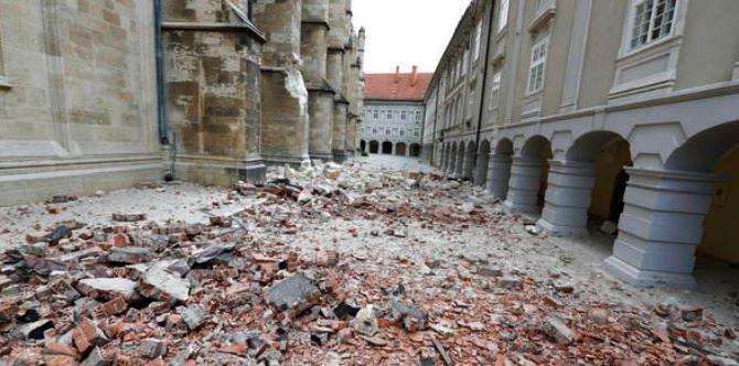 Terremoto in Croazia (foto ansa)