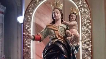 La Madonna della Catena (foto dal profilo Fb del santuario di Dinami)