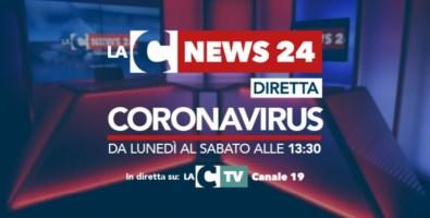 Speciale Coronavirus LaC News24, parte la diretta dedicata all'emergenza