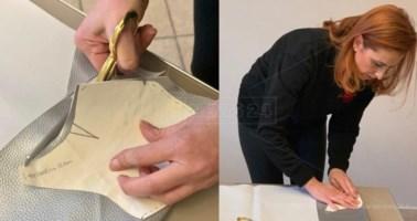 Stilista calabrese cuce e dona mascherine per medici e lavoratori a rischio