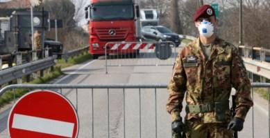 I sindaci del Cosentino invocano l'Esercito: «Rischio contagio gravissimo»