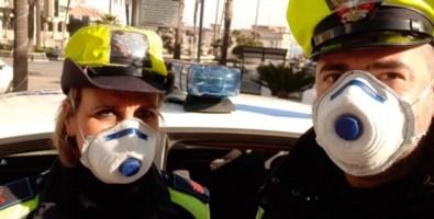 Palmi, la Polizia locale: «State a casa, col coronavirus si rischia di morire»