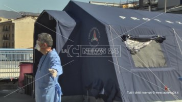 Cosenza, senzatetto in attesa del tampone scappa: ricerche in corso