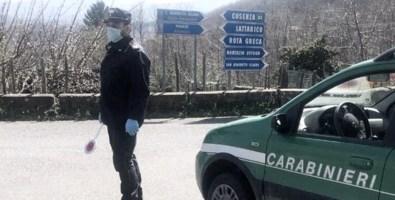 Coronavirus, in strada senza motivo: in Calabria aumentano le denunce