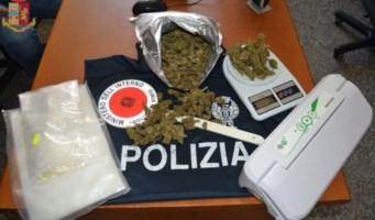 La droga sequestrata a Tropea