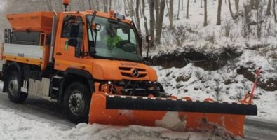 Torna la neve nelle Serra vibonesi, l'Anas al lavoro per la viabilità