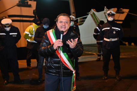 Il sindaco di Messina, Cateno De Luca - foto Ansa