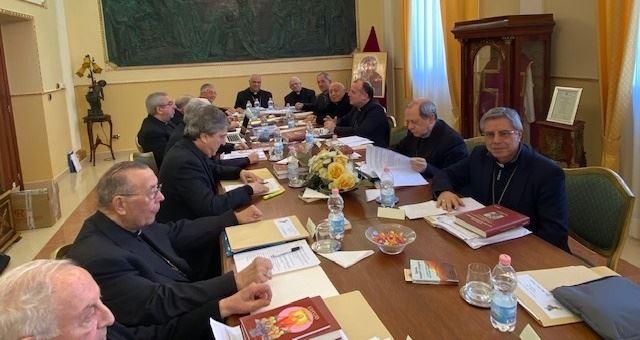 La Conferenza episcopale calabra riunitasi l'8 marzo 2020