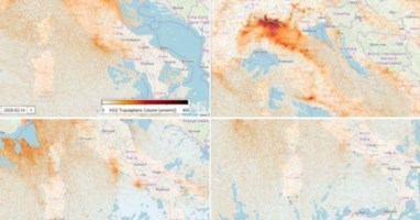 Effetto coronavirus contro effetto serra: in un mese calato lo smog