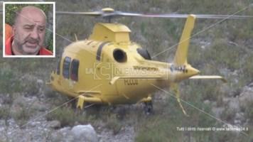 Bimbo prematuro nasce in elicottero: trasferito all'ospedale di Cosenza