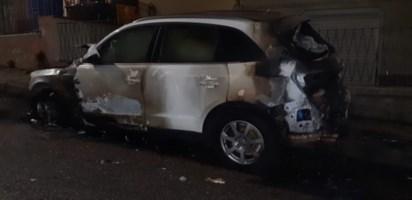 Incendiata auto a un imprenditore catanzarese