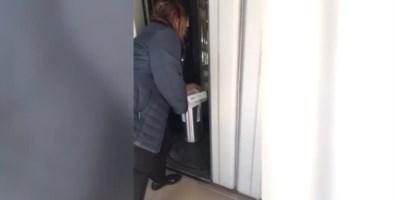 Una scena del video pubblicato dal consigliere regionale Giuseppe Graziano