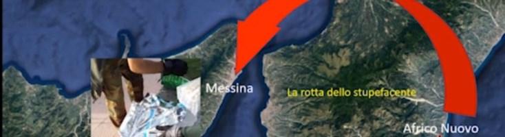 Droga nascosta anche nella sabbia in Calabria e pronta per le piazze messinesi
