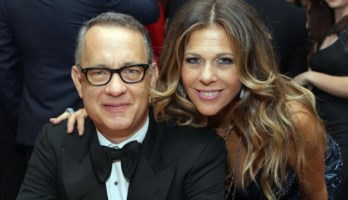 Tom Hanks e la moglie, Rita Wilson