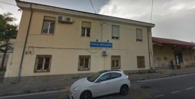 La sede della Polizia municipale a Vibo Valentia