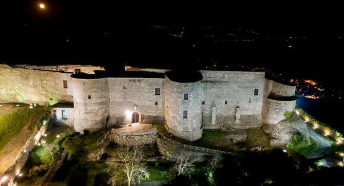 Il castello di Vibo Valentia