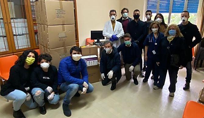 Donazioni all'ospedale di Polistena