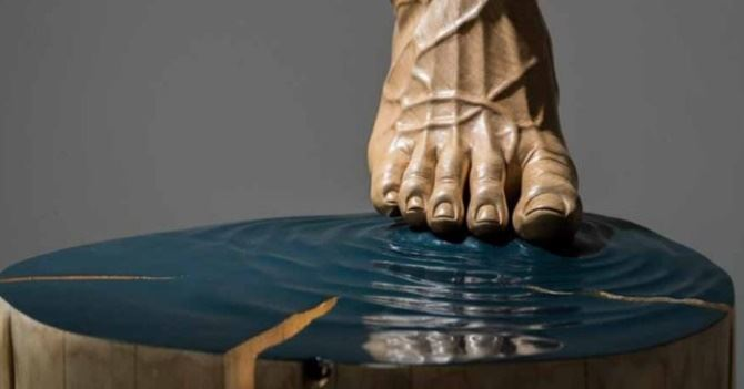 L'opera dello scultore Tropiano