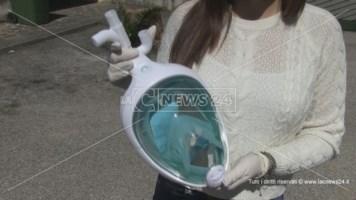 Anche a Cosenza le maschere sub trasformate in respiratori salvavita