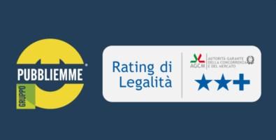 Gruppo Pubbliemme, Agcm certifica Rating di Legalità con punteggio altissimo