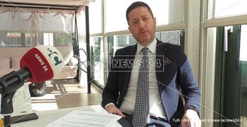 Il presidente della Camera di Commercio di Catanzaro, Daniele Rossi
