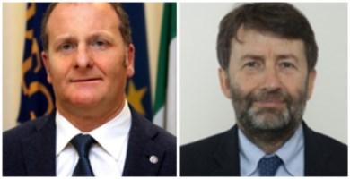 Il consigliere Bevacqua e il ministro Franceschini