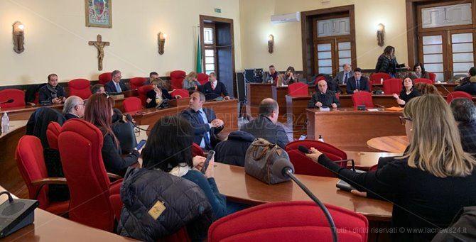 Il consiglio comunale di Vibo Valentia