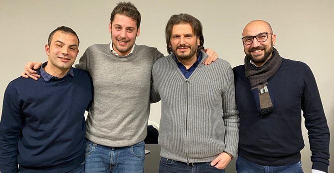 Angelo Greco, Luca Toccalini, Cristian Invernizzi, Gianluca Nardi