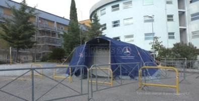 Emergenza nel Cosentino, il centro Covid-19 di Castrovillari è ancora nel caos