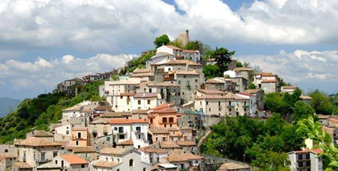Il centro storico di Acri