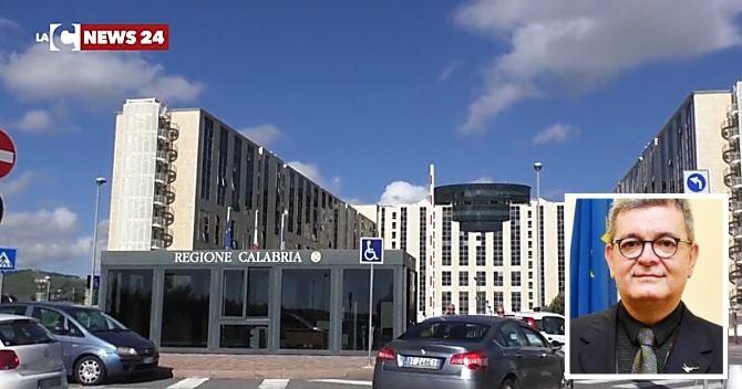 Regione Calabria, nel riquadro il presidente ff Nino Spirlì