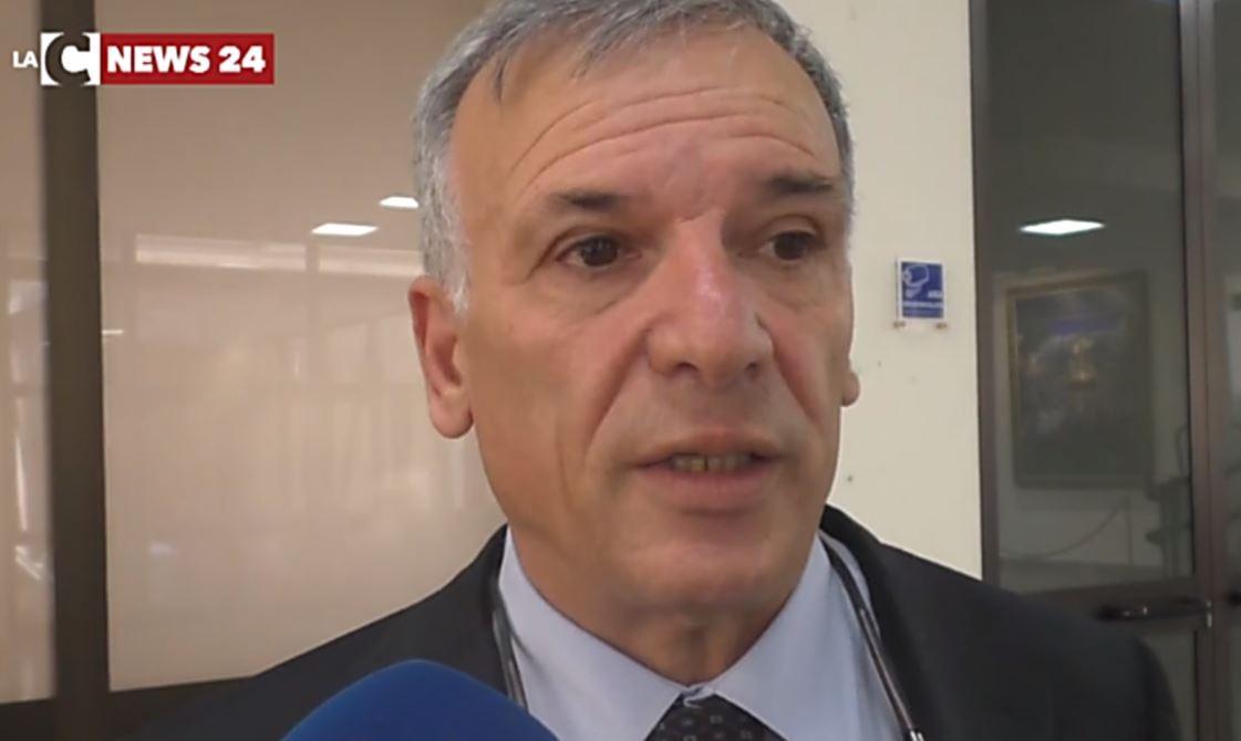 Il presidente del Consiglio regionale, Domenico Tallini