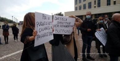 Le proteste a Catanzaro