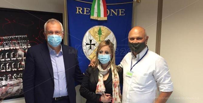 Franco Talarico - Rita Azzurra Ranieri - Salvatore Riccio