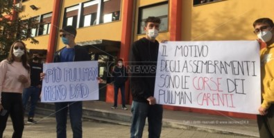 Studenti in piazza a Castrovillari
