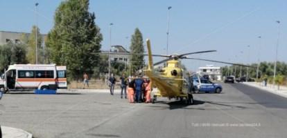 L'incidente sul lavoro a Rossano