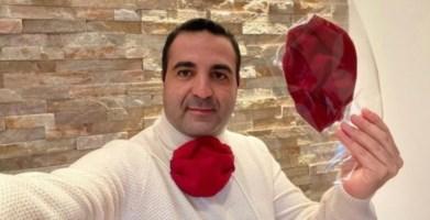 Cannizzaro dona 2mila mascherine amaranto alla città di Reggio Calabria