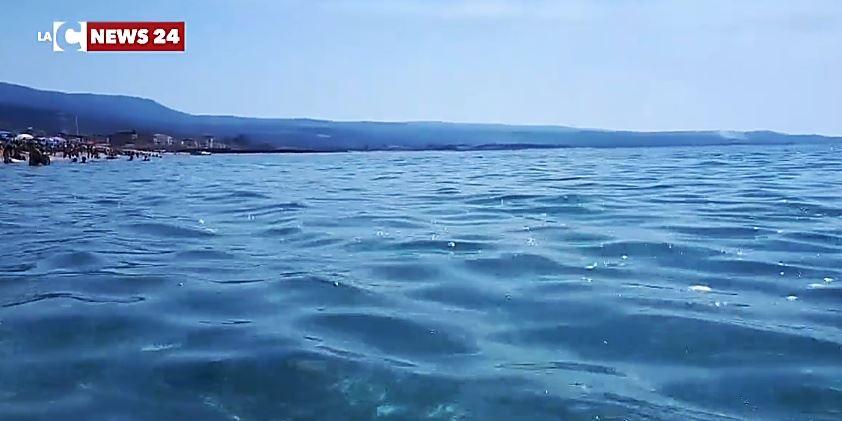 Un tratto di mare calabrese