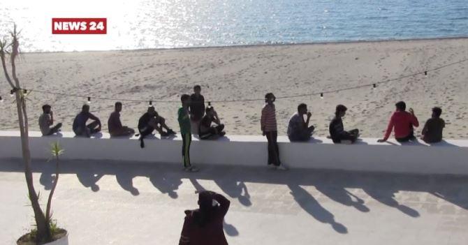 Migranti sulle coste calabresi