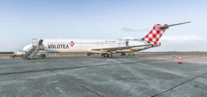 Un aereo della compagnia Volotea