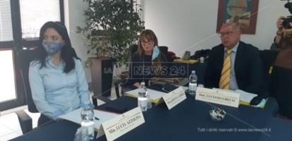 Il ministro Lucia Azzolina a Catanzaro