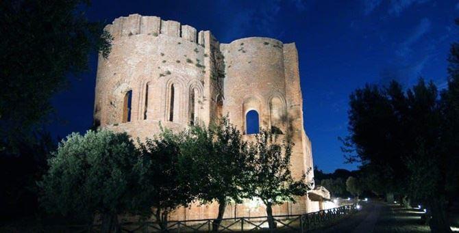 Il parco Scolacium a Roccelletta (foto dalla pagina Armonie d'Arte Festival)