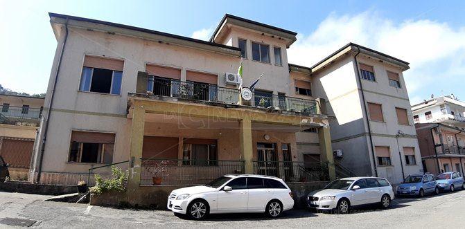 La sede del municipio di Nocera Terinese