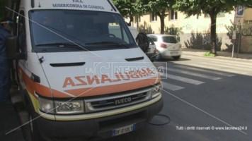 Incidente sulla statale 106 a Corigliano Rossano, un ferito