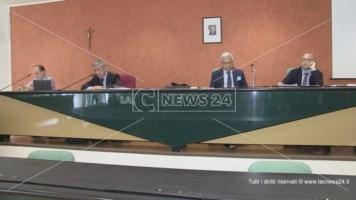 Marcello Manna durante una riunione dell'Ato Cosenza