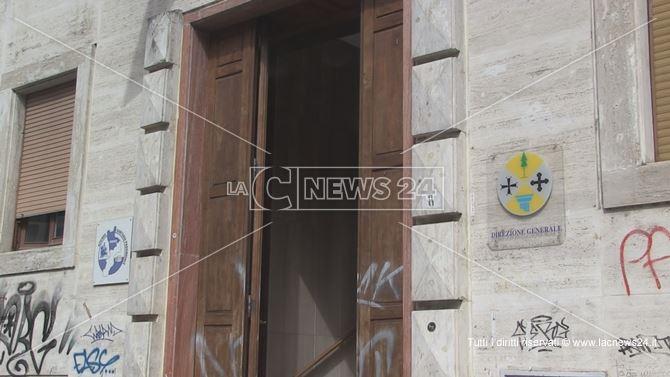 La sede dell'Azienda Sanitaria Provinciale di Cosenza