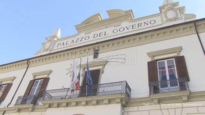 La sede della Provincia di Cosenza