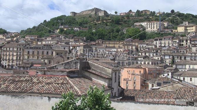 Panorama di Cosenza vecchia