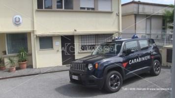 Il comando compagnia carabinieri di Rogliano