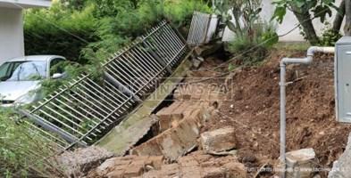 I danni causati dal maltempo a Castrovillari